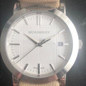 Authentic Burberry BU1390 Watch